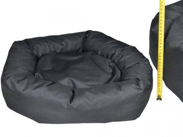 Donut legowisko kojec dla psa czarny