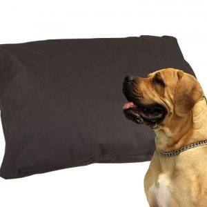 Legowisko dla psa poducha kodura czarna