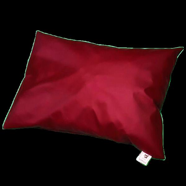 Poduszka legowisko dla psa eko-skóra (czerwona)