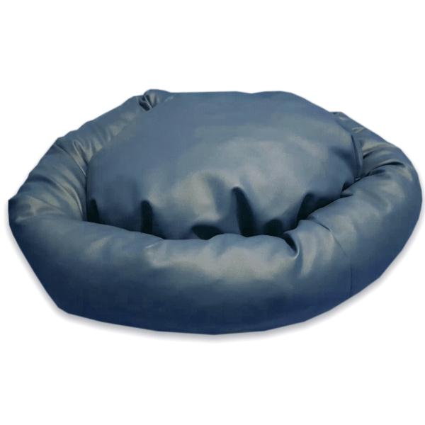 donut legowisko dla psa (niebieskie)