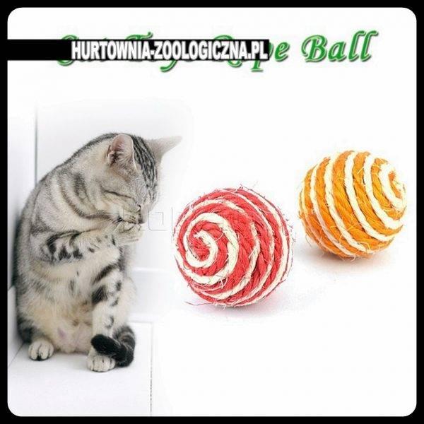 hurtownia zoologiczna zabawka dla kota piłka - sklep zoologiczny