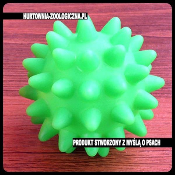 hurtownia zoologiczna - gumowa piłka gryzak dla psa