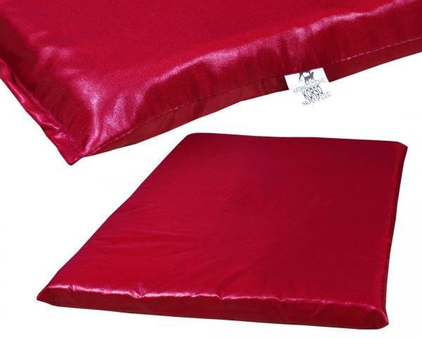 Mata barwna dla psa 6 kolorów ortalionu czerwień