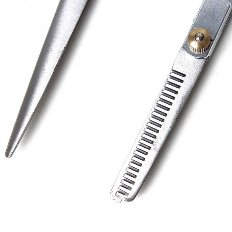 Profesjonalne regulowane nożyczki groomerskie