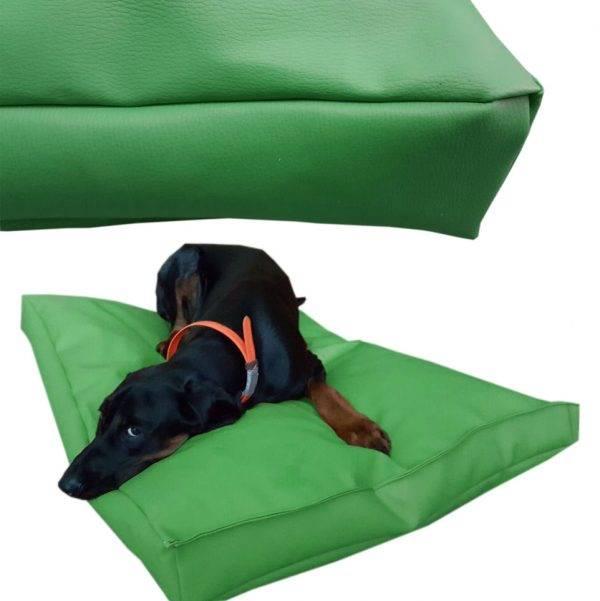 legowisko dla psa prostokątne ekoskóra (13)