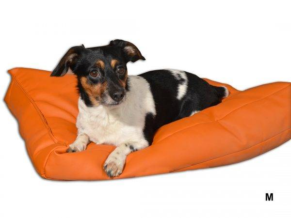 legowisko dla psa prostokątne ekoskóra (4)