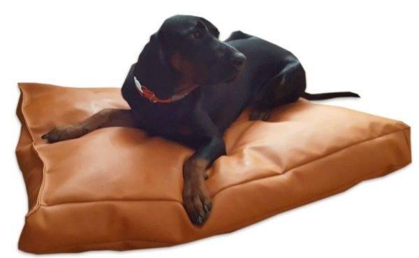 legowisko dla psa prostokątne ekoskóra (5)