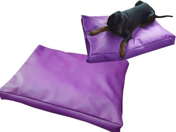 legowisko dla psa prostokątne ekoskóra (8)