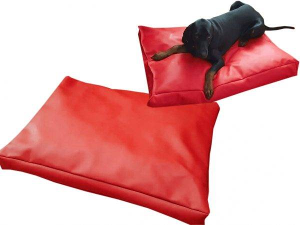 legowisko dla psa prostokątne ekoskóra (9)