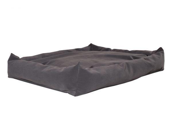 Kanapa zamszowe legowisko dla psa czarne