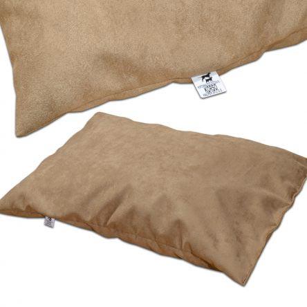 Poduszka legowisko dla psa zamszowe