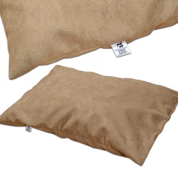 Poduszka dla psa zamszowa