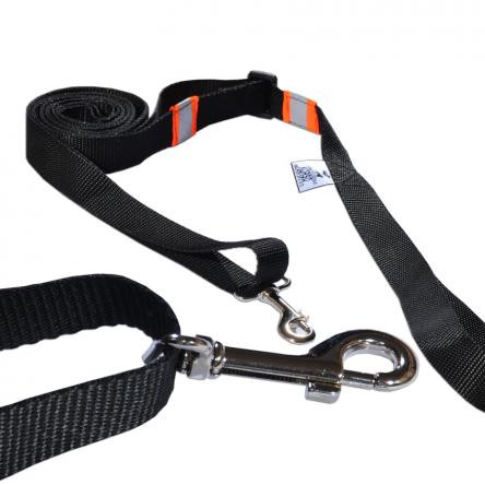 Smycz z regulatorem dla dużych psów 1.5-3m 25mm