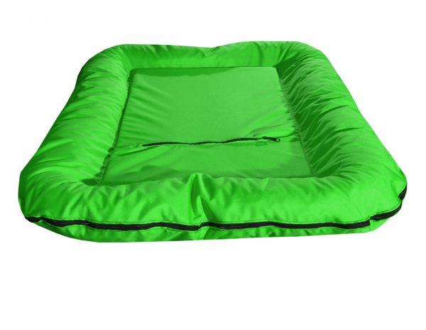 Legowisko ponton wodoodporny dla psa jednolity kolor zielony