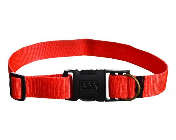 Czerwona obroża dla psa M - XXL rozmiary