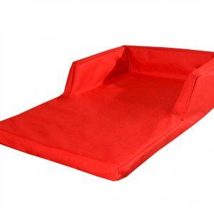 Sofa wodoodporna dla psa legowisko czerwone