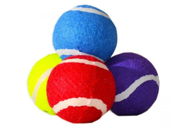 Zabawki piłki dla psów kolorowe