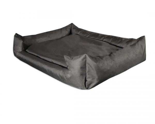 Legowisko kanapa z wejściem wodoodporna dla psa czarna
