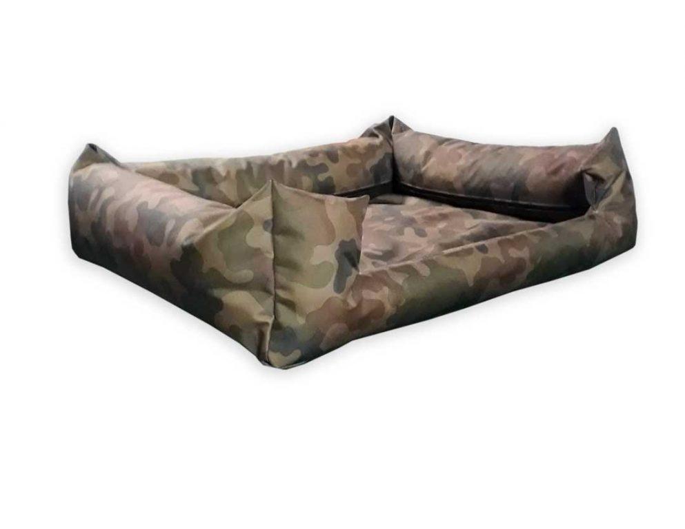 Legowisko kanapa z wejściem moro dla psa