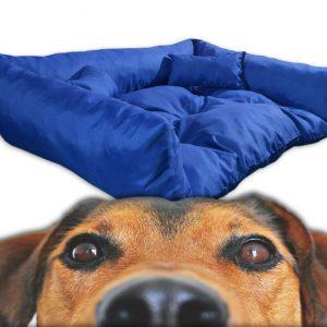 Legowisko kanapa dla psa półokrągła impregnowany materiał
