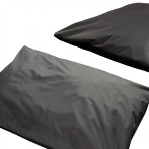 Poduszka Dwukolorowa Legowisko Dla Psa szaro czarna