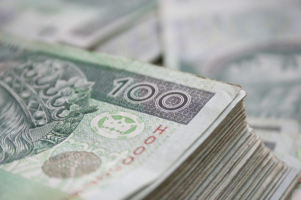 Pieniądze polskie złote
