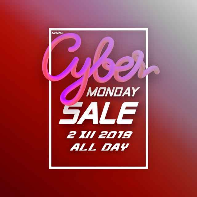 Rabat -15% na Cyber Monday