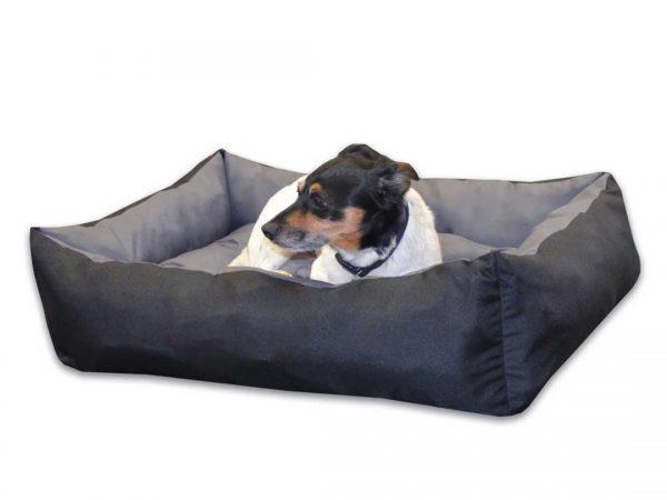 Legowisko dla psa kanapa dwukolorowa średnia