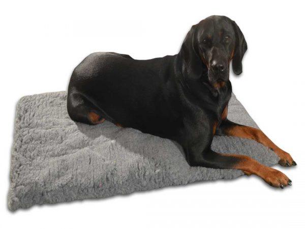 mata dla psa z futerkiem miękka duża